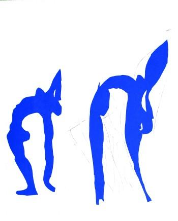 Acrobats 25 x 24.5 cm, £550 For details please 'click' on image