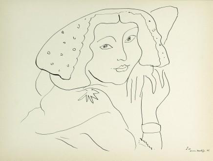 Cinquante Dessins, 1943 25 x 33 cm, £575 For details please 'click' on image
