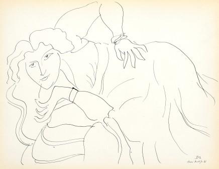 Cinquante Dessins, 1943 22 x 28 cm, £575 For details please 'click' on image
