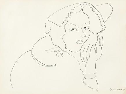 Cinquante Dessins, 1943 21 x 26 cm, £575 For details please 'click' on image