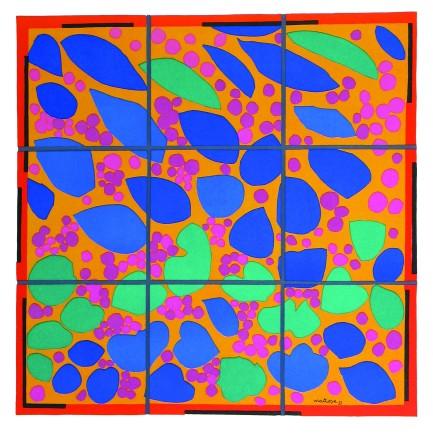 Lierre en Fleur 24 x 24 cm, signed in plate £650 For details please 'click' on image