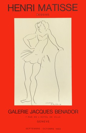 Galerie Jacques Bénador, 1980, signed in plate 76.5 x 50 cm, £550 Please 'click' on image for details