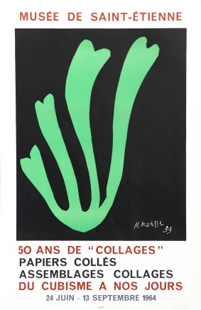 50 Arts de 'Collages' 1964 75.5 x 50 cm, signed in plate £650 Please 'click' on image for details