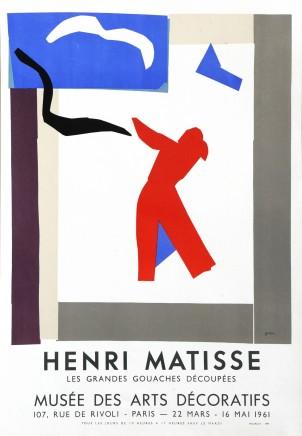 Musée des Arts Décoratifs, 1961 87 x 45 cm, £1,500 Please 'click' on image for details