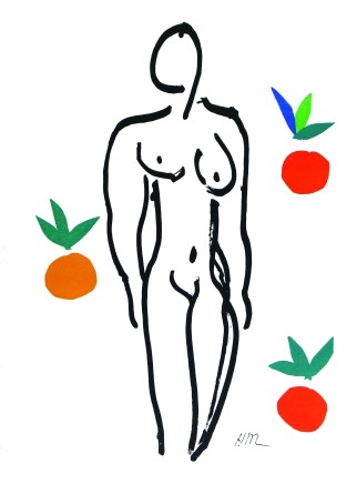 Nu aux Oranges 36 x 26 cm, signed in plate £1,250 For details please 'click' on image