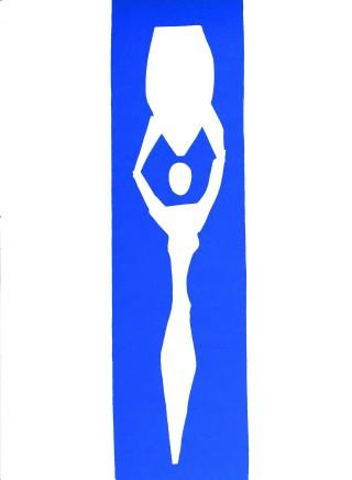 Nu Bleu II 35 x 26.5 cm, £600 For details please 'click' on image