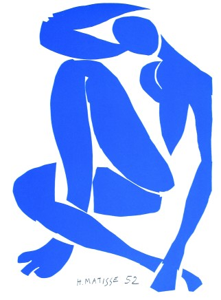 Nu Bleu III 35.5 x 26.5 cm, signed in plate £1,450 For details please 'click' on image