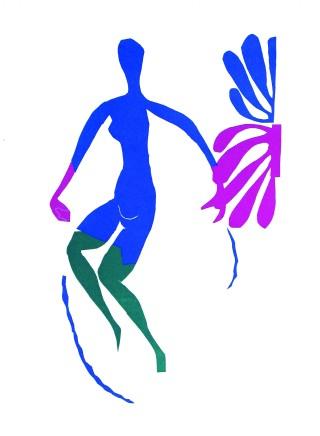 Nu Bleu V 35.5 x 26.5 cm, £750 For details please 'click' on image