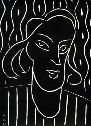 Teeny, 1959 Linocut, 29 x 22 cm, £950
