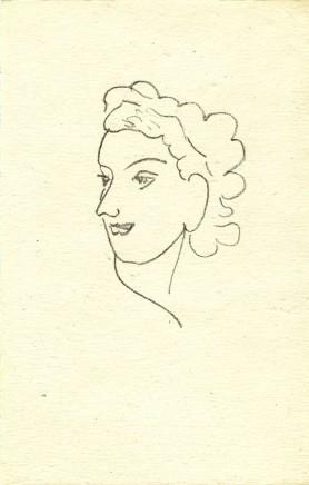 Repli 7, 1947 ed.370 Lithograph, 12.5 x 7.5 cm, £950
