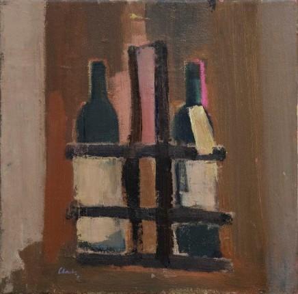 Michael G Clark PAI RSW Bordeaux Bottles