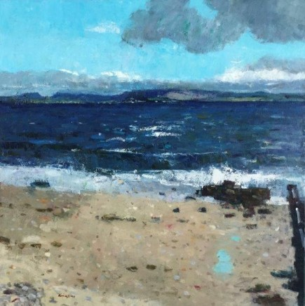John Kingsley PAI RSW Bowmore from Bruichladdich, Islay