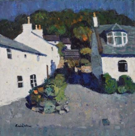 John Kingsley PAI RSW Fishermen's Cottages, Kippford