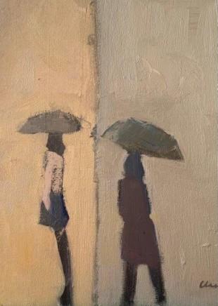 Michael G Clark PAI RSW Rainy Day in the Marais