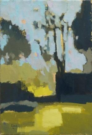 Michael G Clark PAI RSW Summer, Walled Garden, Mount Charles