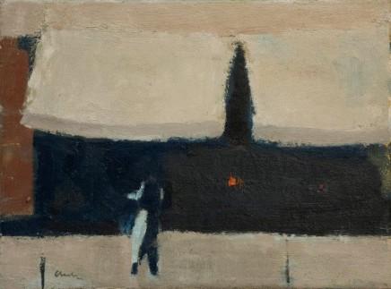 Michael G Clark PAI RSW The Colours of Paris (Waiter)