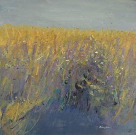 John Kingsley PAI RSW Wheatfields, Boarhills, Fife