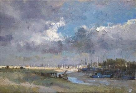 Matthew Alexander Sun And Cloud At Oare Creek £1,550