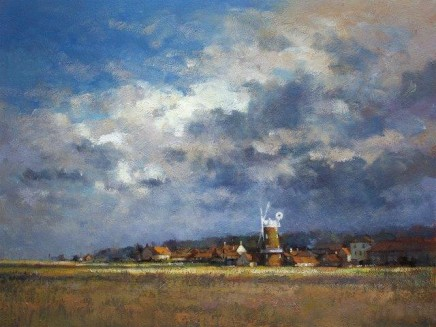 After Rain, Cley Mill, Norfolk SOLD