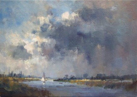 Approaching Storm, Norfolk Broads SOLD