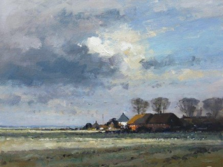 Matthew Alexander Cloud Shadows on the Marsh £2,500