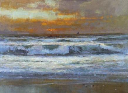 Matthew Alexander Sea and Sunset £2,500