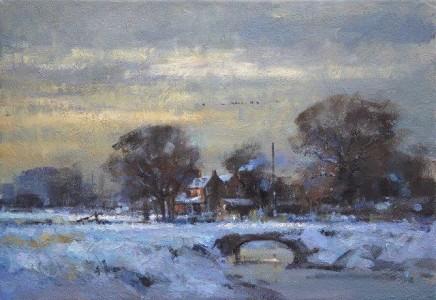Snow at Marshside