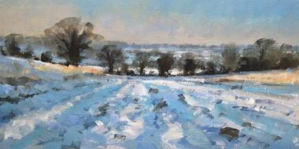 Snow in the Elham Valley