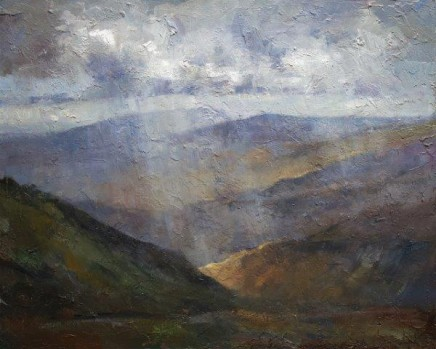 View from Helvellyn, Lake District SOLD