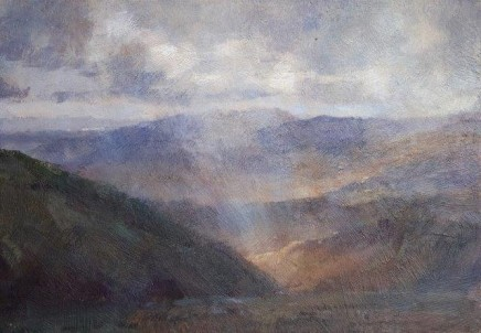 Matthew Alexander View From Helvelyn Lake District (Study) £1,550