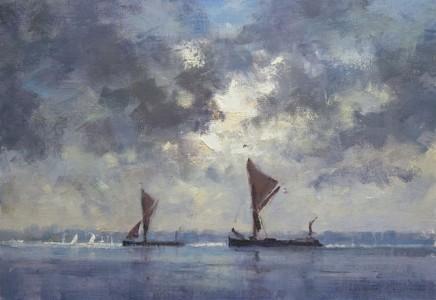 Matthew Alexander Barges at Pin Mill £1,550