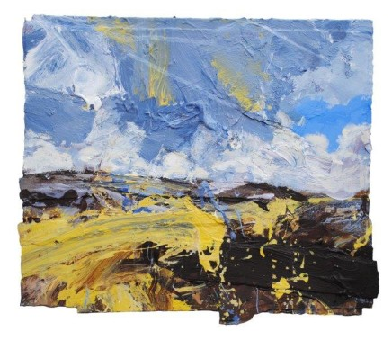 David Tress Exmoor. Driven Clouds and Blown Rag of Blue £5,850