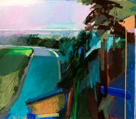 David Prentice (1936-2014) Eagles Nest (Confluence of the Wye & the Severn, 2014) £9,000