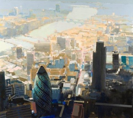 David Prentice (1936-2014) Kings Reach - The City and the River (2008) £8,950