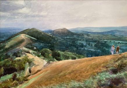 David Prentice (1936-2014) Malvern Hills Conversation (1993) £2,200