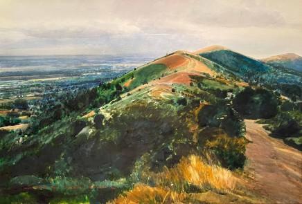 David Prentice (1936-2014) Malvern Ridgeway - August (1992) £3,250