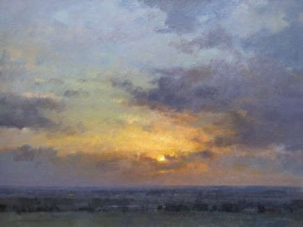 Matthew Alexander Sunset over the Marshes £4,500