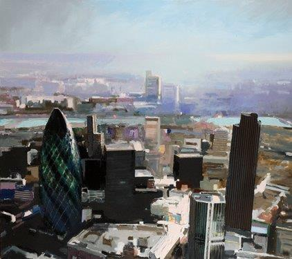 David Prentice (1936-2014) The City and The Thames (2008) £8,950
