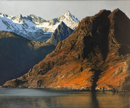 Fred Schley, From Elgol, Skye