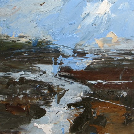 Louise Balaam, The sky reflected Carreg Coetan