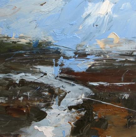 Louise Balaam, The sky reflected Carreg Coetan