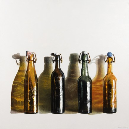 Peter Evans, Four Old Beer Bottles