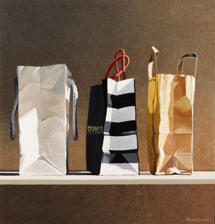 Peter Evans, 3 Carrier Bags