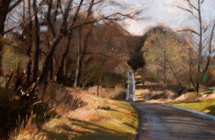 David Prentice, The Wet Lane, Malverns - 1987
