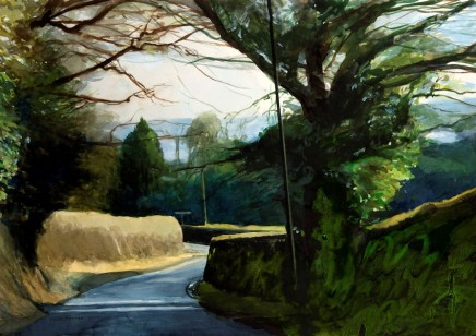 David Prentice, A Lane on the Worcestershire/Herefordshire Border - 2010