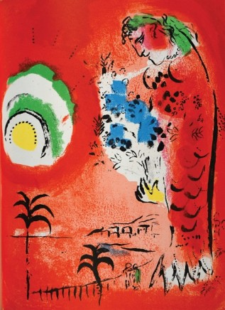 Marc Chagall, The Bay of Angles, 1960