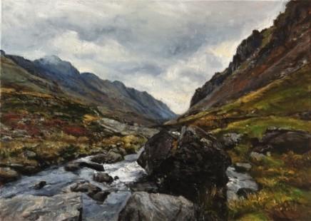 Fred Schley, Llanberis Pass, Snowdonia
