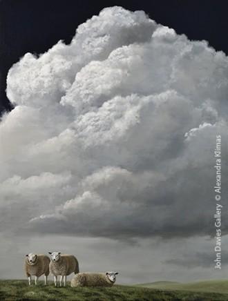 Alexandra Klimas, Sheep on the Hill