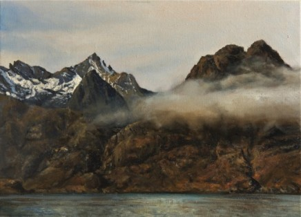 Fred Schley, The cuillins from Elgol, Skye