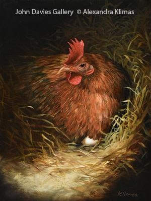 Alexandra Klimas, Lily the Chicken